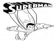 Printable kids coloring page superman superheroes5db9 coloring pages