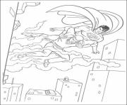 Printable superman saves life coloring page5b4e coloring pages