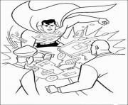 Printable superman attacks lex coloring page1ca6 coloring pages