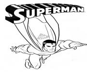 Printable superman  printable0548 coloring pages