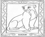 Printable sarabi c74b coloring pages
