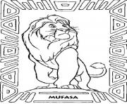 Printable mufasa  for kids free853b coloring pages