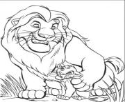 Printable mufasa and simba free 5a0d coloring pages
