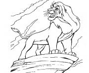 Print the great mufasa efcc coloring pages