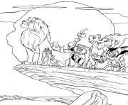 Printable all lion king characters 11d8 coloring pages
