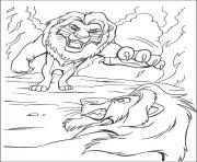 Print scar attacks mufasa c4bc coloring pages