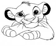 Printable for kids lion king simbae8a1 coloring pages