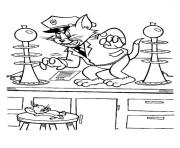Print police tom ba31 coloring pages
