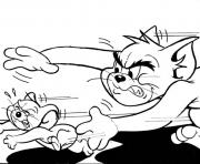 Print tom chasing after jerry 08a9 coloring pages