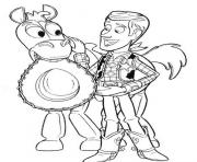 woody bullseye coloring pages - photo#21