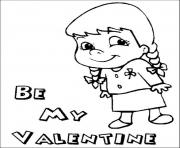be my valentines s6c55 coloring pages