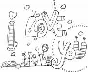 valentine s i love you60ad coloring pages