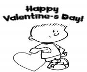 happy valentine s0080 coloring pages