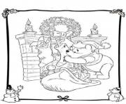 winnie and piglet free s for christmas6f4f coloring pages