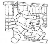 Printable winnie the pooh colouring pages for children christmasa810 coloring pages