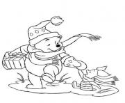 winnie and piglet christmas s printable92ed coloring pages