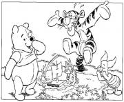 pooh meet a fish page0d27 coloring pages