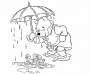 Printable pooh protecting ducks pagebbce coloring pages