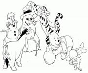Printable winnie the pooh winter s printablesadc8 coloring pages
