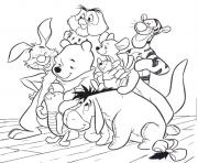 Winnie The Pooh Coloring Pages Free Printable