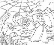 belle and beast in green room disney princess 4e55