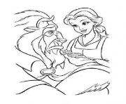 belle taking care of beast disney princess 9af3