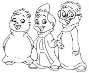 Print alvin and chipmunks s for print45ae coloring pages