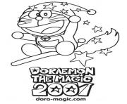 doraemon the wizard 0282 coloring pages