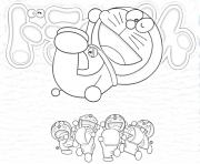 free doraemon japanese cartoon 08c1 coloring pages