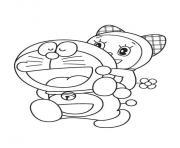 Printable doraemon and dorami 8a71 coloring pages