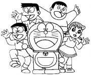 9000 Top Doraemon Colouring Pages Pictures
