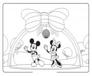 mickey and minnie disco disney d7b2 coloring pages