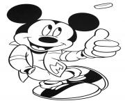 Printable cool bad boy mickey disney s41f8 coloring pages