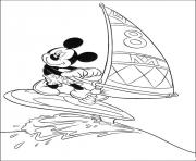 mickey sailing disney c959 coloring pages