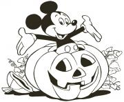 Printable mickey in a pumpkin disney 5bcf coloring pages