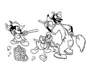 Printable mickey plays with friends free disney 87cf coloring pages