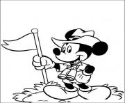 mickey as jones disney de51 coloring pages