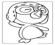 Printable poroporo penguin 8c5a coloring pages