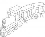 Happy Train 11f19 coloring pages