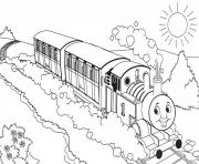 Print thomas the train s for freee070 coloring pages