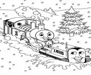 thomas the train preschool sad4d coloring pages