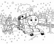 Printable thomas the train printable winter s for kids6c8f coloring pages