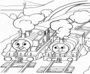Print thomas the train and friends sbcb5 coloring pages