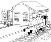Print thomas the train colouring pages print0506 coloring pages