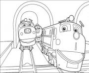train chuggington s6779 coloring pages