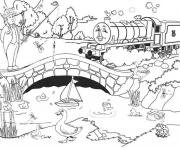 Print thomas the train s henry271f coloring pages