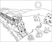 Printable cartoon thomas the train s for kidsff10 coloring pages