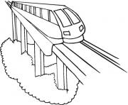 Express Train f53a coloring pages