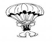 popeye flying with parachute 473f coloring pages