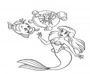 Print sebastian in a bubble disney princess 45be coloring pages